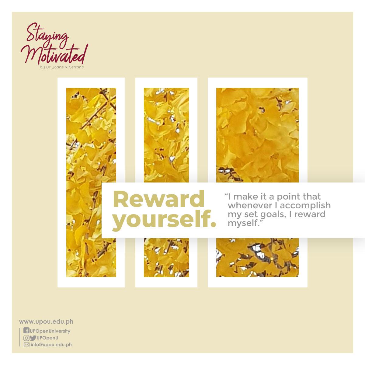 5-Reward yourself