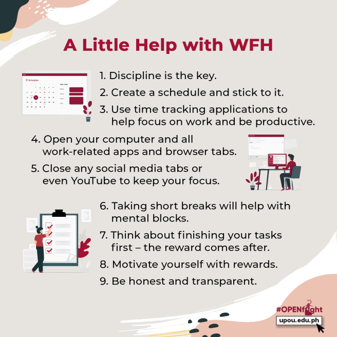 A little help with WFH