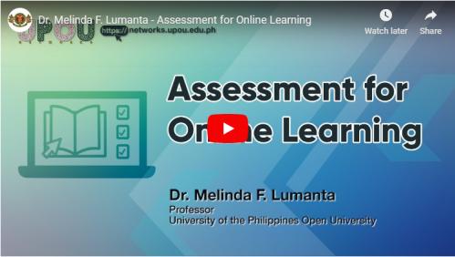Assessment for Online Learning