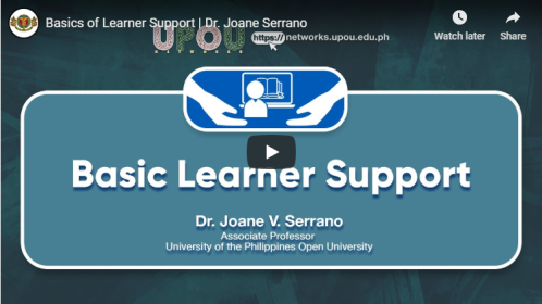 Basics of Learner Support