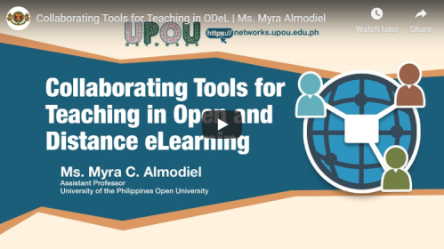 Collaborating Tools for Teaching in Open and Distance eLearning