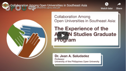 Collaboration Among Open Universities in Southeast Asia