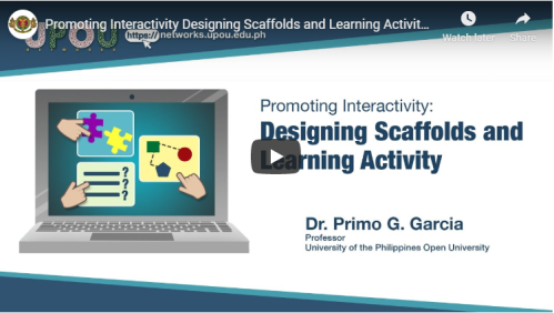 Promoting Interactivity