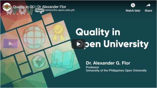 Quality in Open University